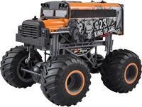amewi Crazy SchoolBus Oranje 1:16 RC modelauto voor beginners Elektro Monstertruck 100% RTR 2,4 GHz Incl. accu, oplader en batterijen voor de zender