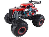 amewi Crazy Hot Rod Zwart 1:16 RC modelauto voor beginners Elektro Monstertruck 100% RTR 2,4 GHz Incl. accu, oplader en batterijen voor de zender