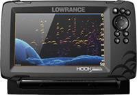 lowrance Hook Reveal 7 Fishfinder, Kaartenplotter