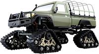 amewi AMXRock RCX10BTS Scale Crawler Pick-Up mattgrün 1:10, RTR 1:10 Brushed RC auto Elektro Crawler RTR 2,4 GHz