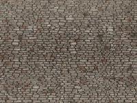 noch 0060371 H0 Muur met metselwerk Metselwerk