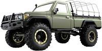amewi AMXRock RCX8BS Scale Crawler Pick-Up 1:8, RTR mattgrün 1:8 Brushed RC auto Elektro RTR 2,4 GHz