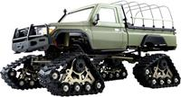 amewi AMXRock RCX10PTS Scale Crawler Pick-Up mattgrün 1:10, RTR 1:10 Brushed RC auto Elektro Crawler RTR 2,4 GHz
