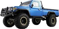 amewi AMXRock RCX8P Scale Crawler Pick-Up 1:8, RTR blau 1:8 Brushed RC auto Elektro RTR 2,4 GHz