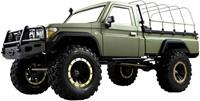 amewi AMXRock RCX8PS Scale Crawler Pick-Up 1:8, RTR mattgrün 1:8 Brushed RC auto Elektro RTR 2,4 GHz