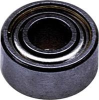 Kogellager, radiaal RVS Binnendiameter: 8 mm Buitendiameter: 22 mm Toerental (max.): 39000 omw/min