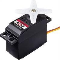 reely Standaard servo S-5252-030 Digitale servo Materiaal (aandrijving): Plastic Stekkersysteem: JR