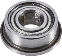 reely Groefkogellager, radiaal Chroomstaal Binnendiameter: 4 mm Buitendiameter: 7 mm Toerental (max.): 60000 omw/min