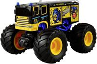 amewi Blauw Brushed 1:18 RC auto Elektro Monstertruck Achterwielaandrijving RTR 2,4 GHz