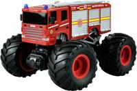 amewi Rood Brushed 1:18 RC auto Elektro Monstertruck Achterwielaandrijving RTR 2,4 GHz