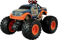 amewi Oranje, Blauw Brushed 1:18 RC auto Elektro Monstertruck Achterwielaandrijving RTR 2,4 GHz
