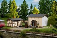 auhagen 11457 H0 Baanwarmtehuis met bijgebouwen