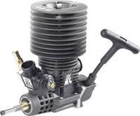 Force Engine nitromotor 28 Black Series vermogen 2.9 pk / 2.15 kW cilinderinhoud uitlaatpoort Achterkant