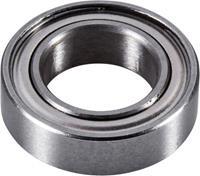 reely BB081504 RC-auto kogellager Chroomstaal Binnendiameter: 8 mm Buitendiameter: 14 mm Toerental (max.): 38000 omw/min