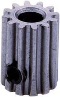 reely Stalen tandwiel  Soort module: 1.0 Boordiameter: 6 mm Aantal tanden: 10