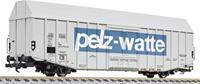 """liliput L235807 H0 grote goederenwagen Hbks """"pelz-watten"""" van de DB"""