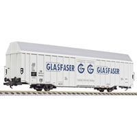 """liliput L235801 H0 grote goederenwagen Hbbks """"glasvezel"""" van de DB"""