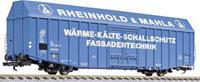 """liliput L235813 H0 grote goederenwagen Hbbks """"pelz-watten"""" van de DB"""