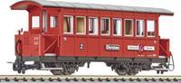 """liliput L344360 H0e personenwagon bi """"Gemeinde Uderns"""" van de Zillertalbahn"""