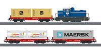 märklin 29453 H0 startset containertrein van de DB AG