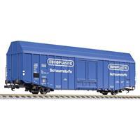 """liliput L235806 H0 grote goederenwagen Hbks """"EUROPLASTIC"""" van de DB"""