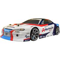 hpiracing HPI Racing RS4 Sport 3 Drift James Deane Nissan S15 Brushed 1:10 RC auto Elektro Straatmodel 4WD RTR 2,4 GHz