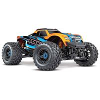traxxas Maxx TSM SR Oranje Brushless RC auto Elektro Monstertruck 4WD RTR 2,4 GHz