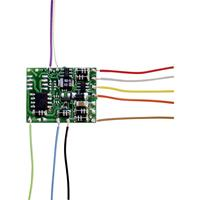tamselektronik TAMS Elektronik 41-05421-01-C LD-W-42 mit Kabeln Locdecoder Met kabel