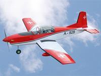 vq Pilatus PC-7 (Swiss) RC motorvliegtuig ARF 1540 mm