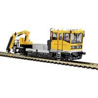 Viessmann 2620 H0 ROBEL spoorrijtuig 54.22 DB net met motorisch bewegende kraan, functiemodel voor 2L