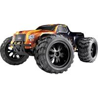 Reely Cimera Black Brushless 1:10 RC auto Elektro Monstertruck 4WD 100% RTR 2,4 GHz Incl. accu en lader
