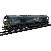 TRIX H0 22693 H0 diesellocomotief Class 66 van de LINEAS Group