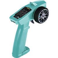 Carson Modellsport Reflex Wheel Start 2.4G Radio Turquoise RC pistoolzender 2,4 GHz Aantal kanalen: 3 Incl. ontvanger
