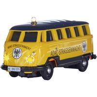 Carson Modellsport 504136 VW T1 Bus Samba ADAC 1:87 RC auto Elektro Bus Incl. accu, oplader en batterijen voor de zender
