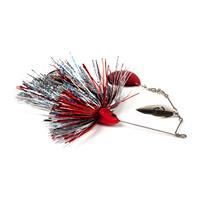 Savage Gear Da Bush Spinnerbait - Maat 3 - 32g - Red Silver Flash