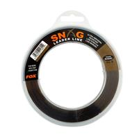 FOX Snag Leader - Trans Khaki - 40lb - 0.57mm - 100m