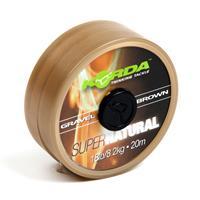 Korda Super Natural - Gravel Brown - Onderlijnmateriaal - 8 kg