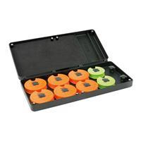 FOX F Box Medium Disc & Rig Box System - Incl. Pins and Discs - Opbergbox