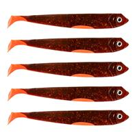 Eurocatch Fishing Zander Gummifisch - Shad - UV Moteroil - 12cm - 5st