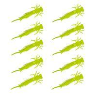 Senshu Nymph Crawler - Yellow Fluo - 4cm - 10 Stuks