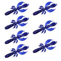 Senshu Flapping Craw - Blue Moon - 6.5cm - 2.75g - 7 Stuks