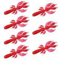 Senshu Flapping Craw - Pink - 6.5cm - 2.75g - 7 Stuks