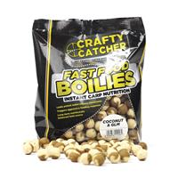 Crafty Catcher Fast Food Coconut & GLM - Boilies - 15mm - 500g