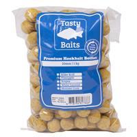 Tasty Baits Hookbait Boilies - Pineapple - 20mm - 1kg