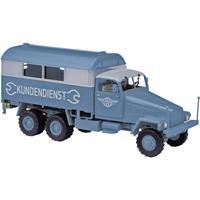Busch 51573 H0 IFA G556 koffer klantenservice ernst Grube fabriek Werdau