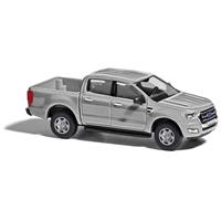 Busch 52807 H0 Ford Ranger Metallica zilver