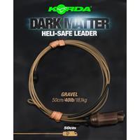 Korda Dark Matter Heli Safe Leader - Gravel - 40lb - 50cm