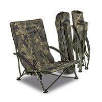 Solar Undercover Camouflage Foldable Easy Chair Low - Opvouwbare Stoel