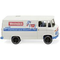 "Wiking 027058 H0 Mercedes Benz L 406 bestelwagen ""Westmilk"""