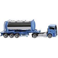 Wiking 053605 H0 MAN TGS tankcontainertrein Swap